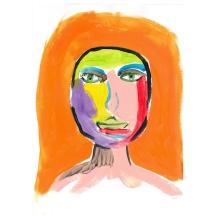 Face orange